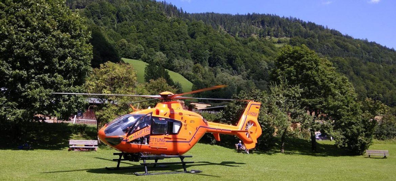 první pomoc helikoptéra