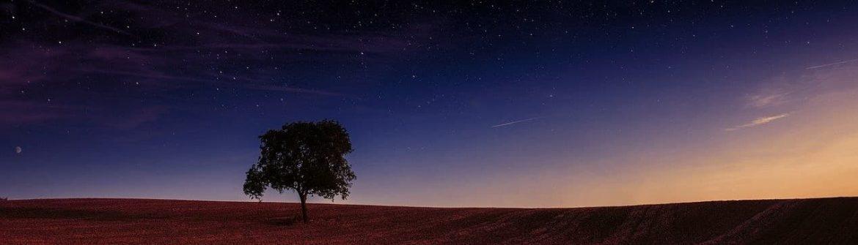 hvězdy na nebi
