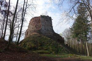 Zřícenina hradu Frýzmburk