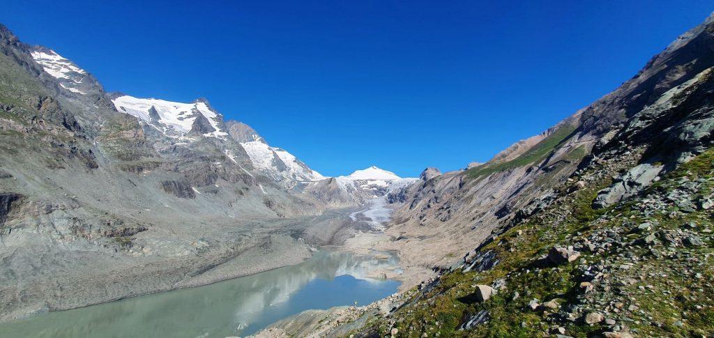 Tající ledovec Pasterze