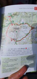 Trasa z průvodce po Dolomitech